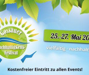 1. Gossauer Nachhaltigkeits-Festival