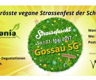 Veganmania 2017, Gossau